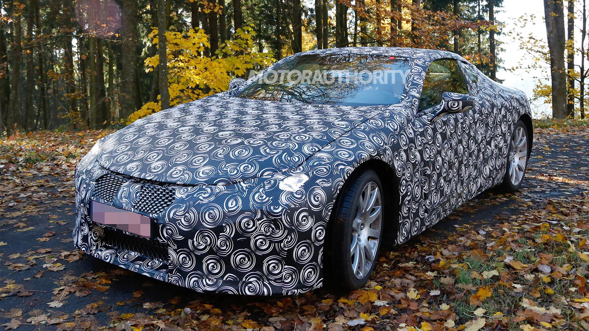 2018 Lexus LC spy shots - Image via S. Baldauf/SB-Medien
