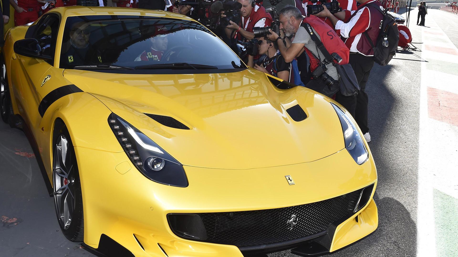 Ferrari F12 tdf, 2015 Finali Mondiali