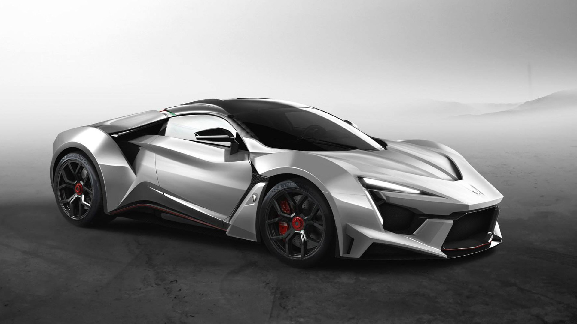 W MOLORS. Fenyr Supersport