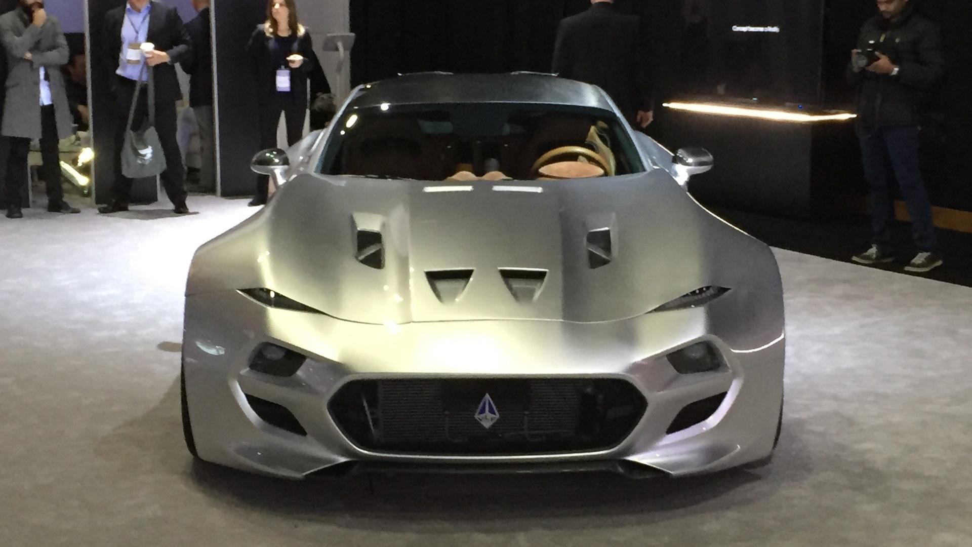 VLF Force 1 V10, 2016 Detroit auto show