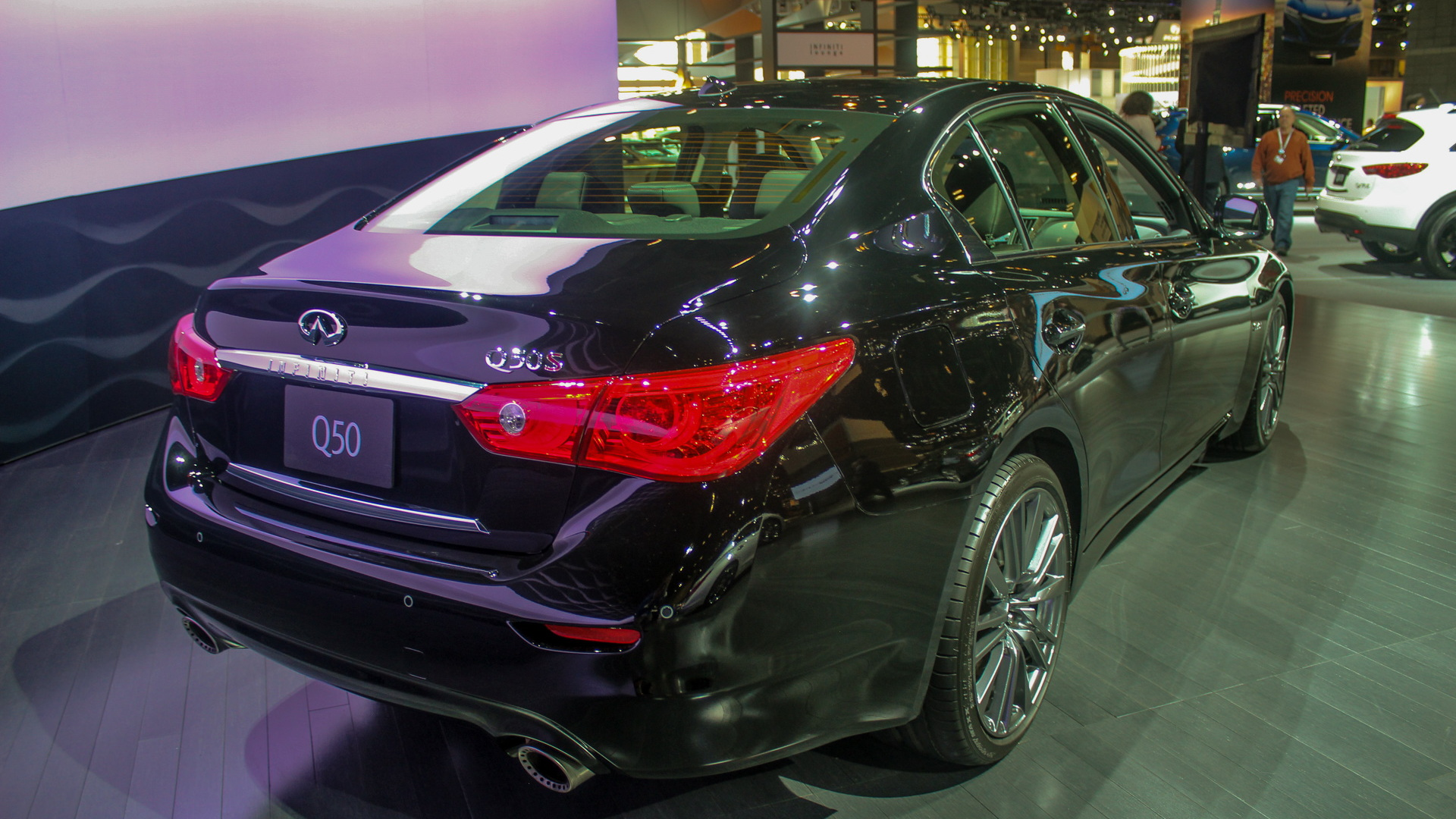 2016 Infiniti Q50 (3.0T Red Sport 400), 2016 Chicago Auto Show