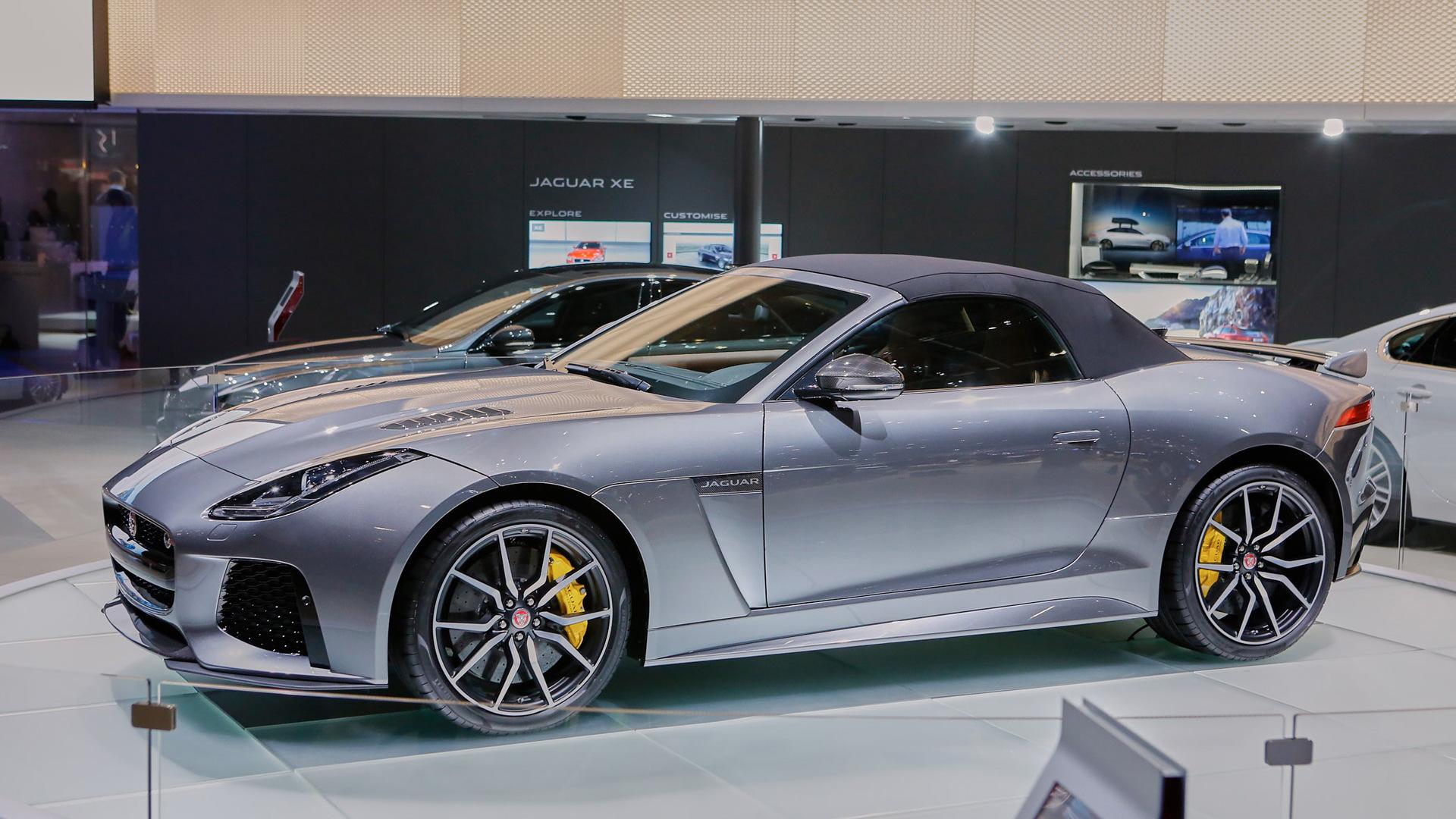 2017 Jaguar F-Type SVR Convertible, 2016 Geneva Motor Show