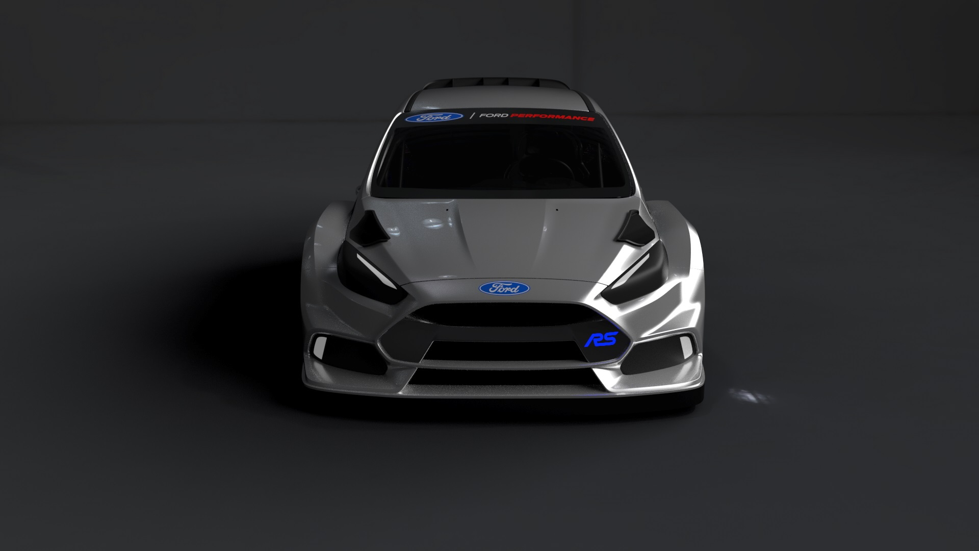 2016 Ford Focus RS World Rallycross Championship car