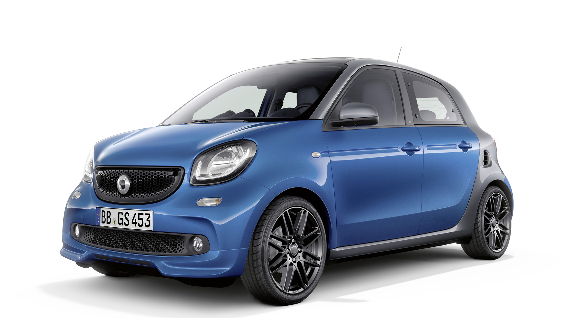 2017 Smart ForFour equipped with Brabus Sports package