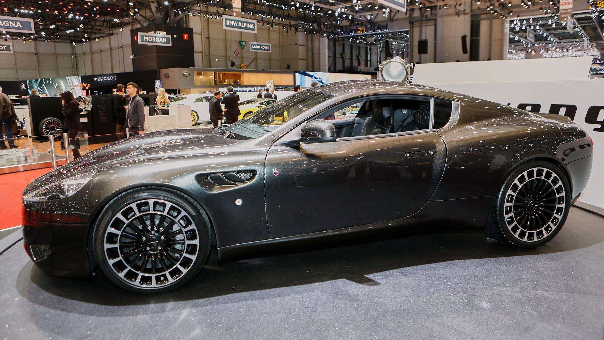 Kahn Design WB12 Vengeance, 2016 Geneva Motor Show