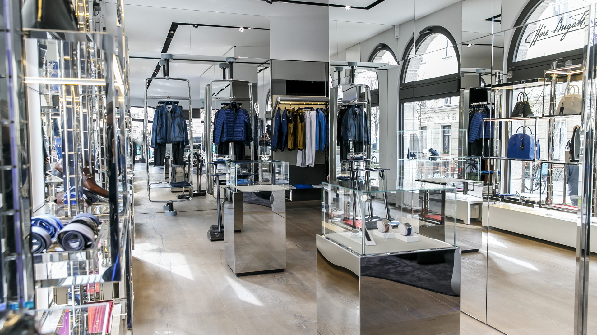 Bugatti Munich boutique and showroom