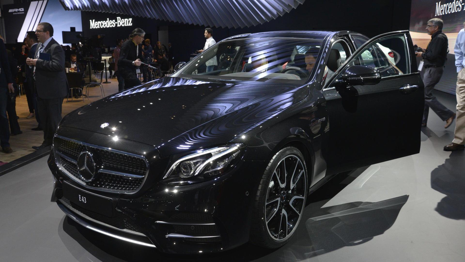 2017 Mercedes-AMG E43, 2016 New York Auto Show