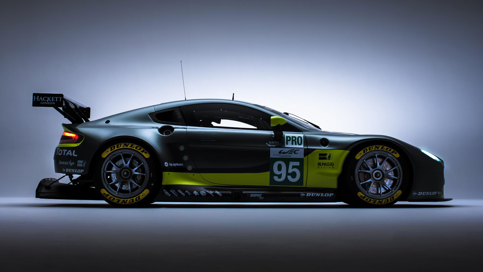 2016 Aston Martin Vantage GTE race car