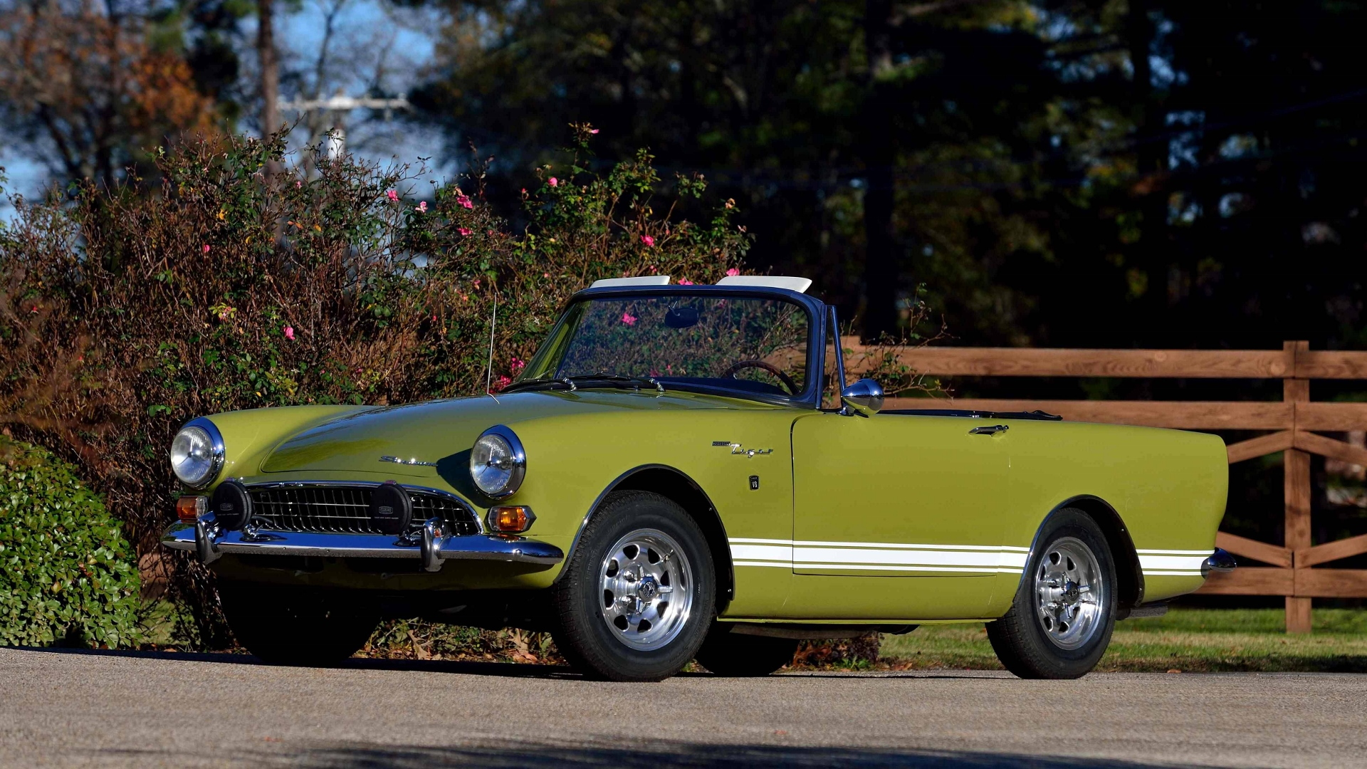 Jim McMurrey collection, 1967 Sunbeam Tiger Mk II roadster
