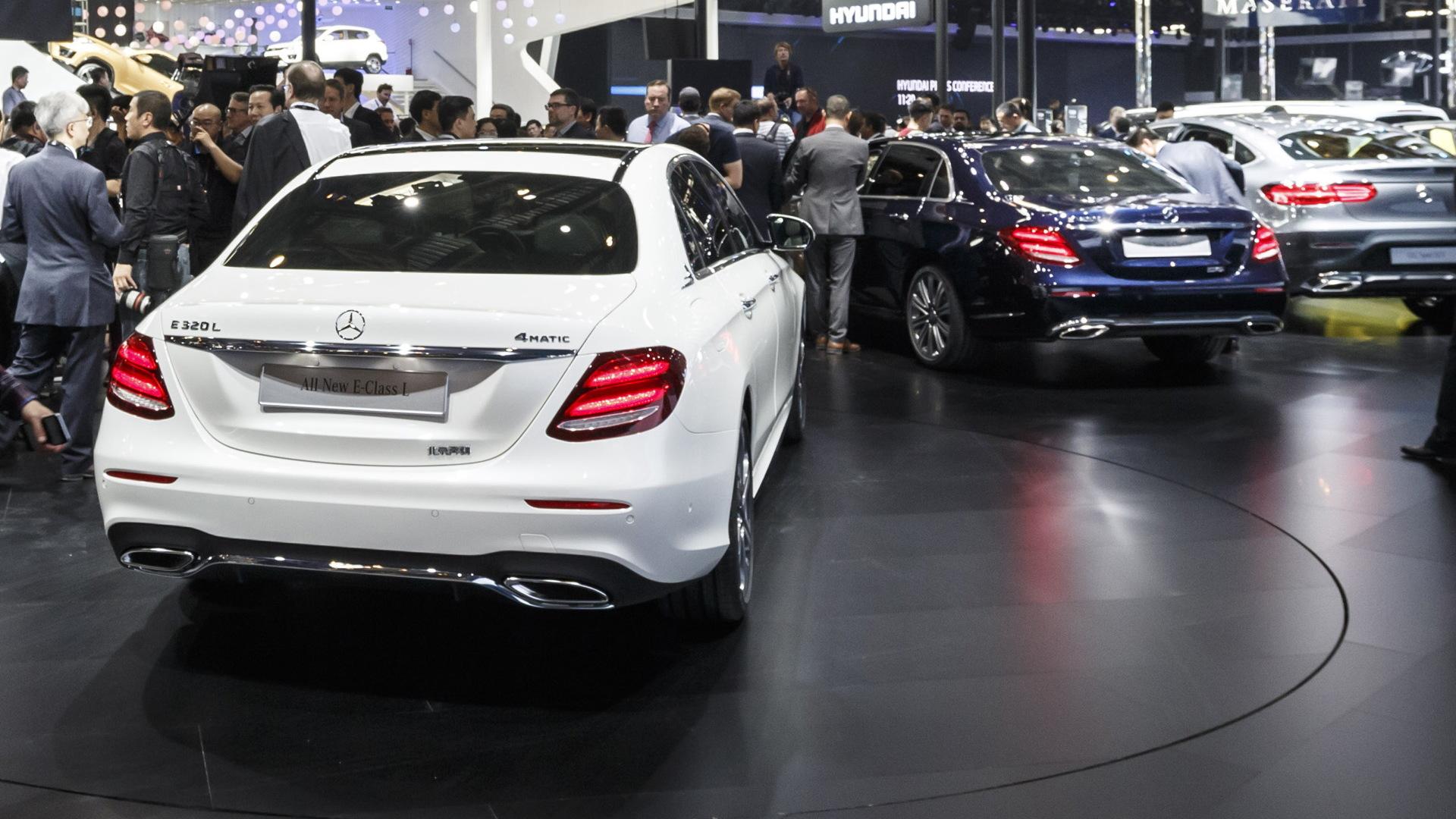 2017 Mercedes-Benz E-Class L