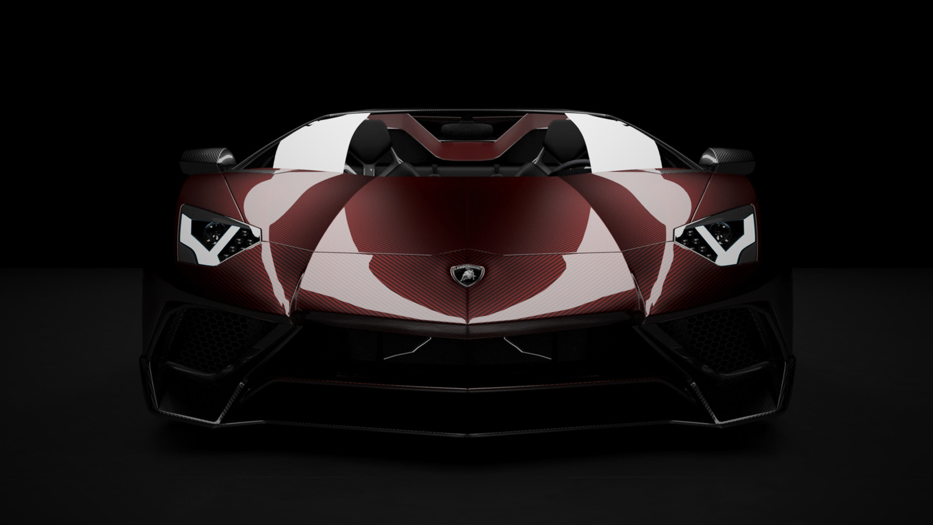 Vitesse-AuDessus carbon fiber parts for the Lamborghini Aventador LP 750-4 SuperVeloce