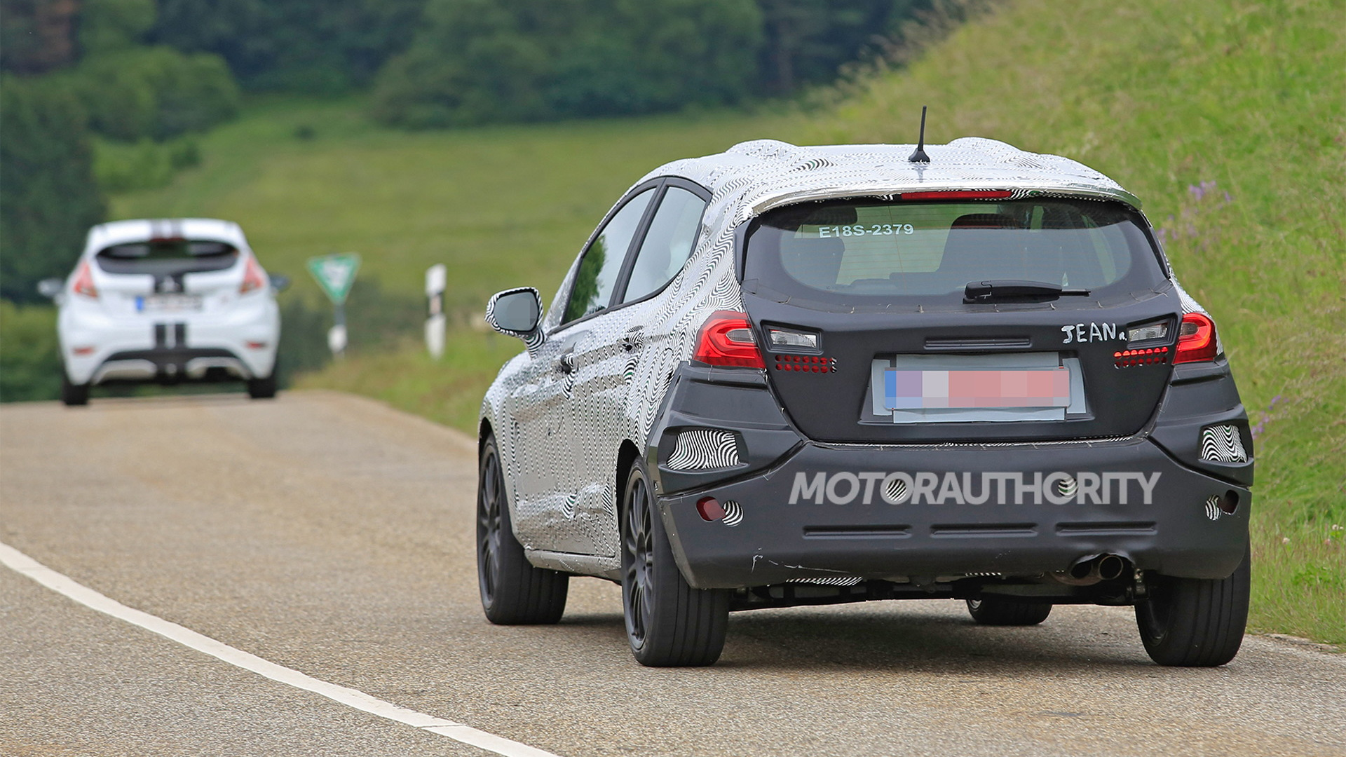 2018 Ford Fiesta ST spy shots - Image via S. Baldauf/SB-Median