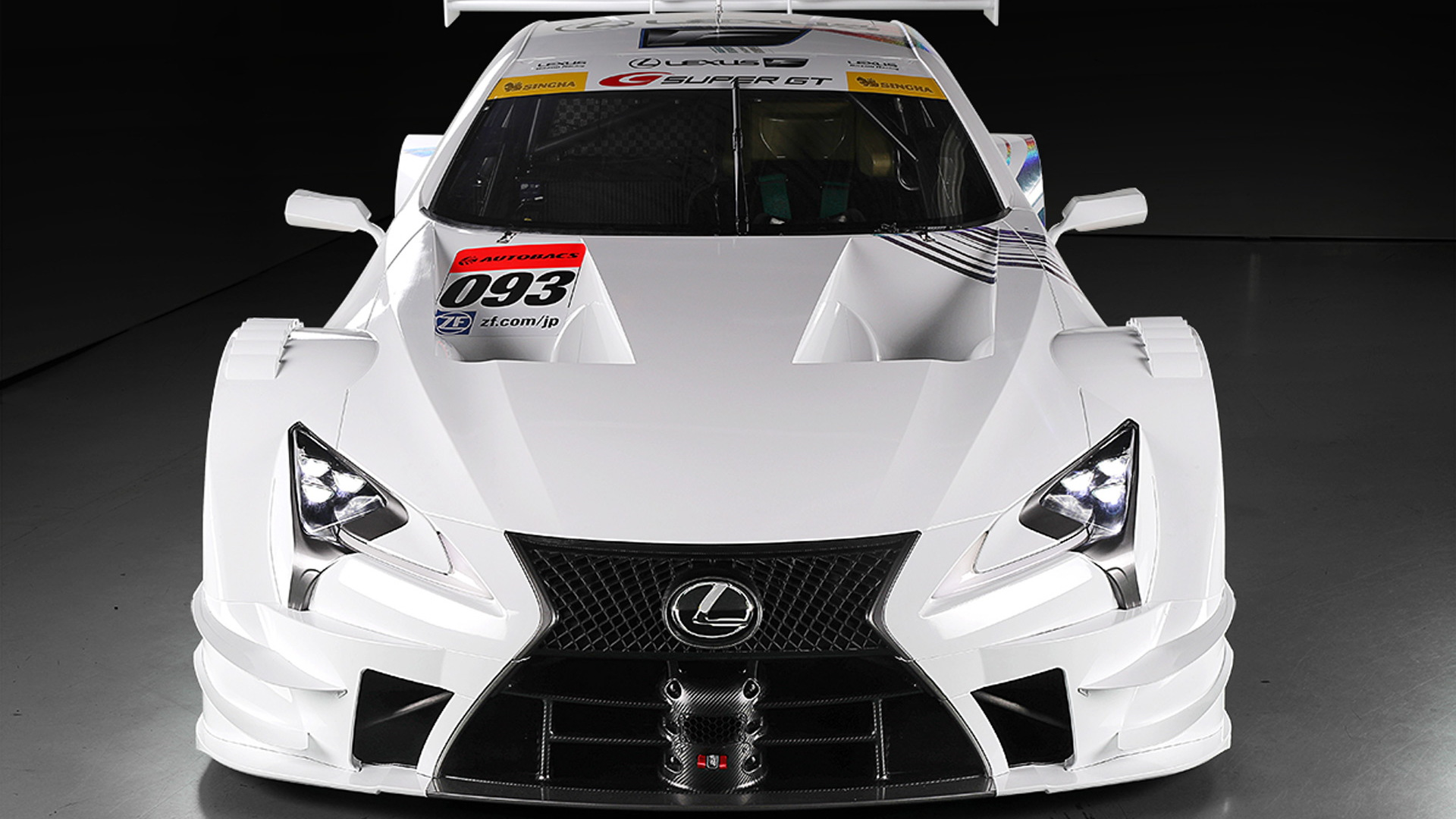 2017 Lexus LC GT500 Super GT race car