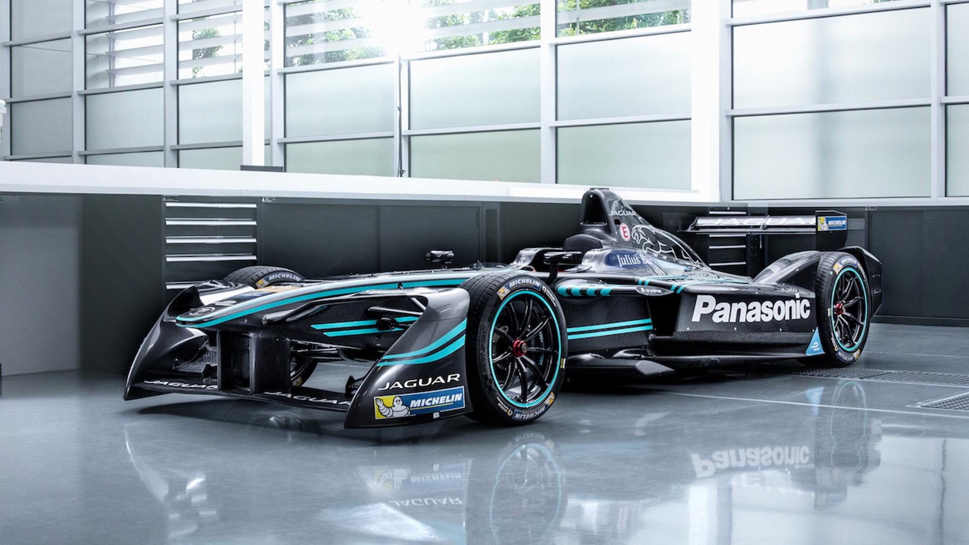 2016/2017 Jaguar I-Type 1 Formula E race car