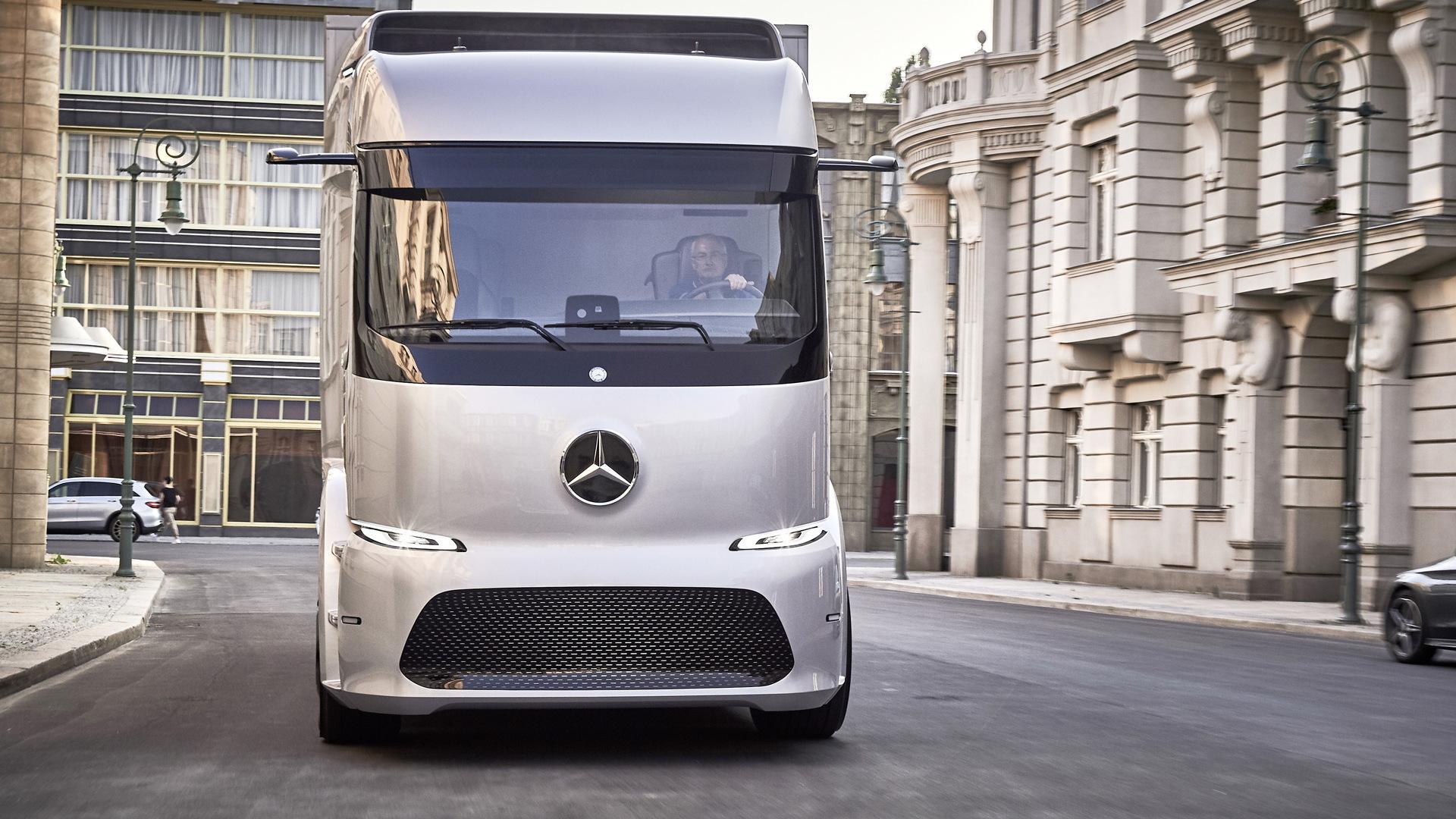 Mercedes-Benz Urban eTruck concept, 2016 IAA Commercial Vehicles