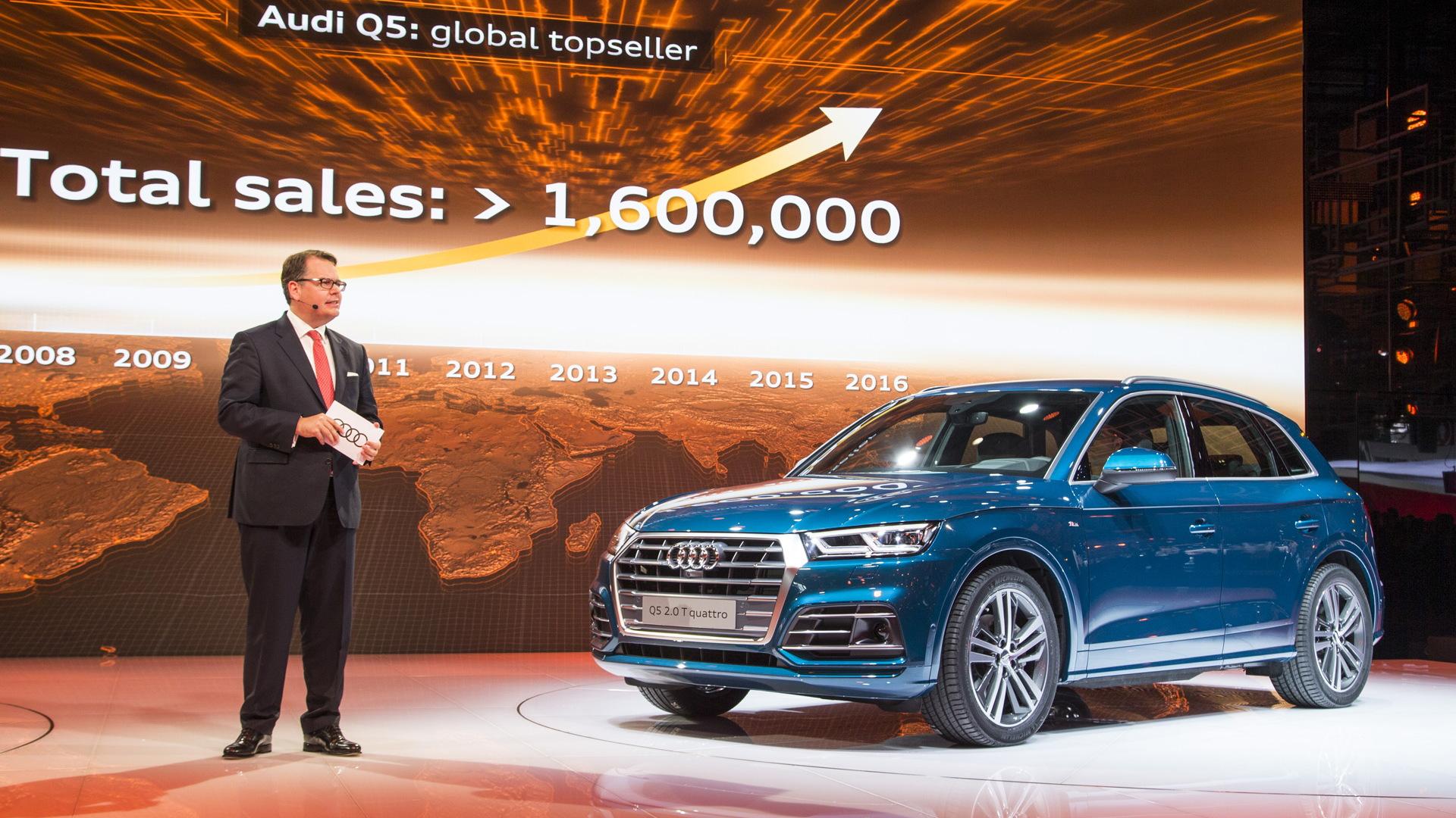 2018 Audi Q5, 2016 Paris auto show