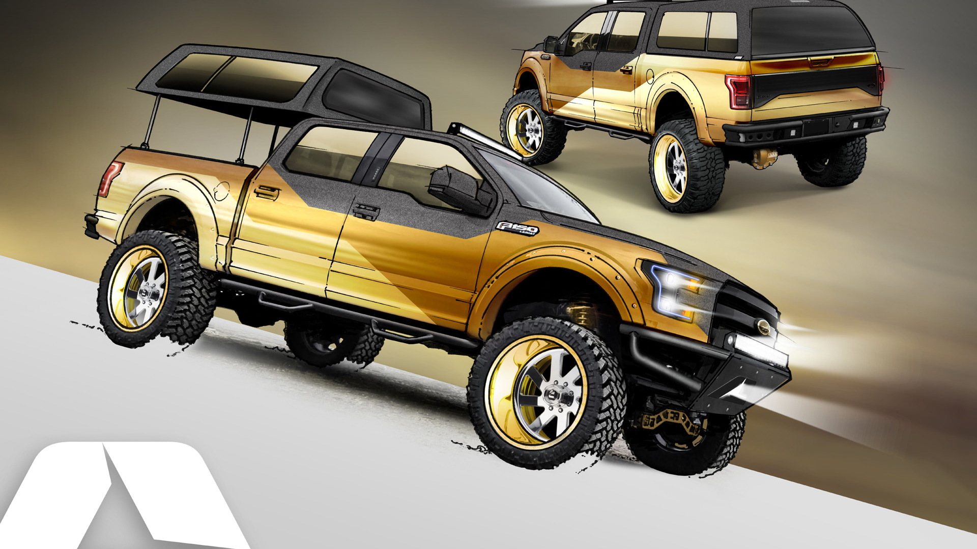2016 Ford F-150 Gold Standard Project Truck by A.R.E.