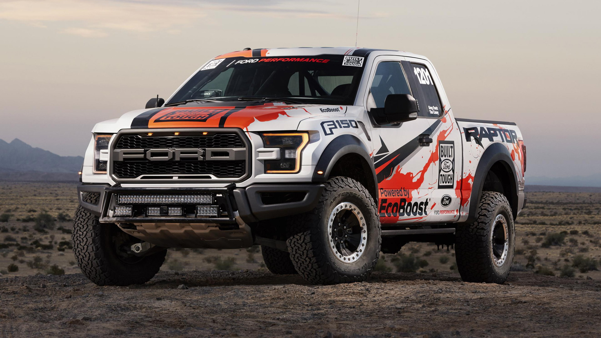 2016 Ford F-150 Raptor Baja 1000 racing truck