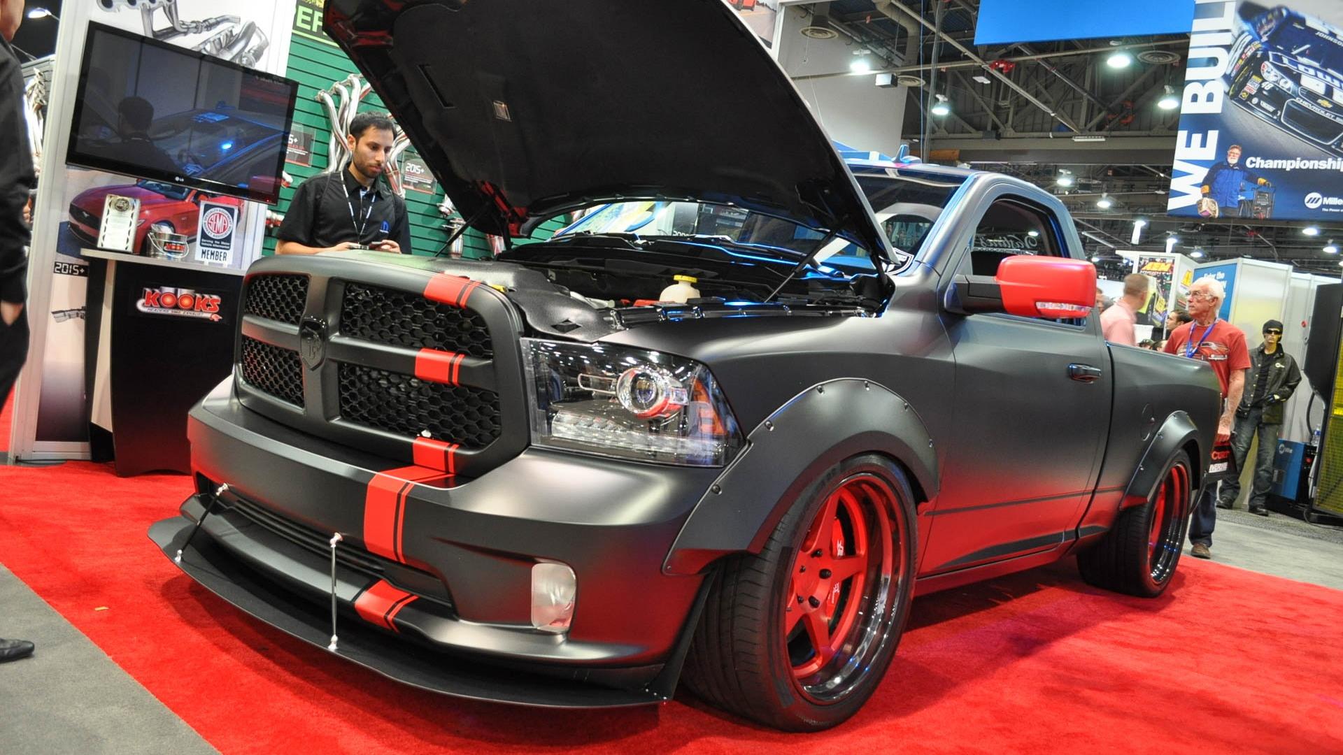 Hellcat-powered Ram 1500 Hellfire, SEMA 2016