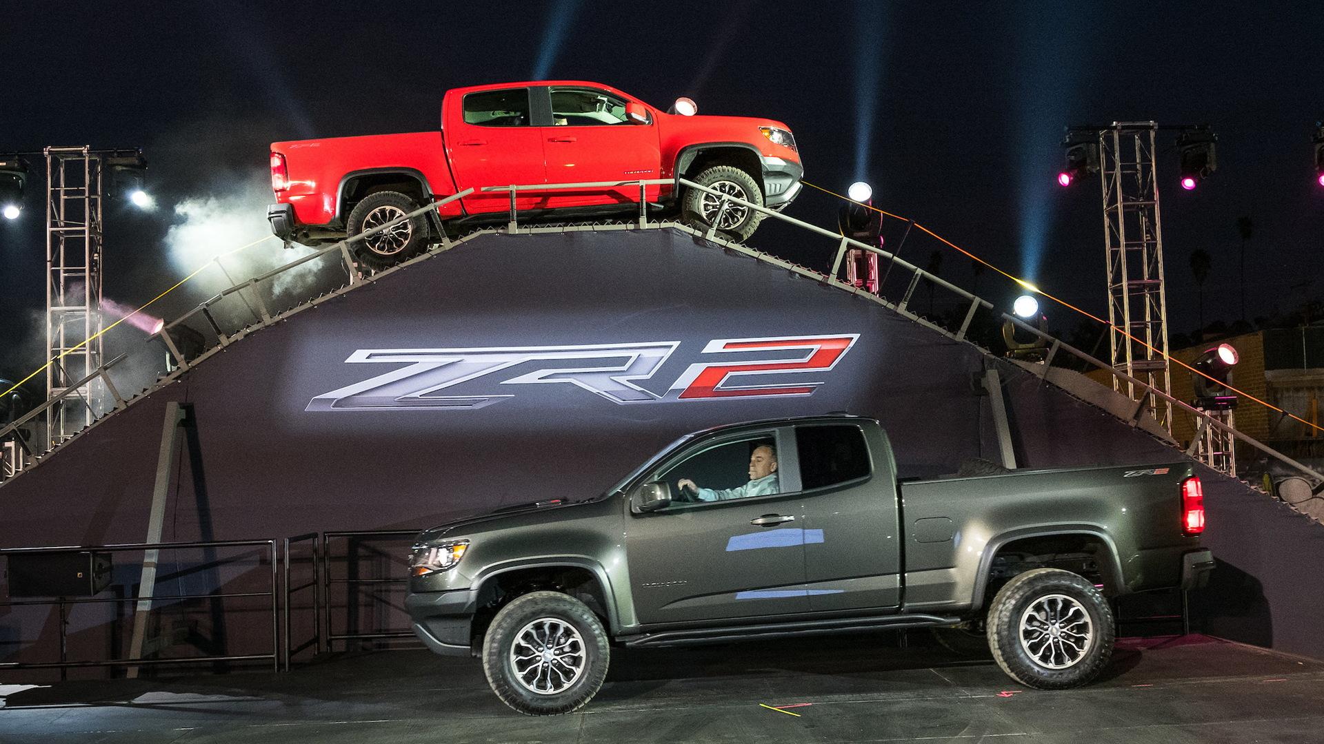 2017 Chevrolet Colorado ZR2, 2016 Los Angeles auto show