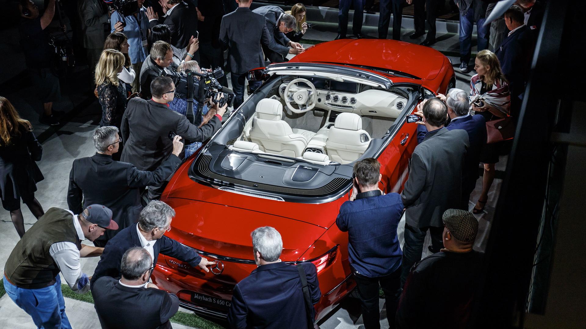 2017 Mercedes-Maybach S650 Cabriolet, 2016 Los Angeles auto show