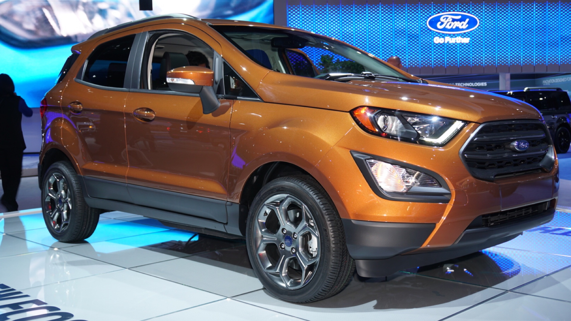 2018 Ford Ecosport, 2016 Los Angeles Auto Show