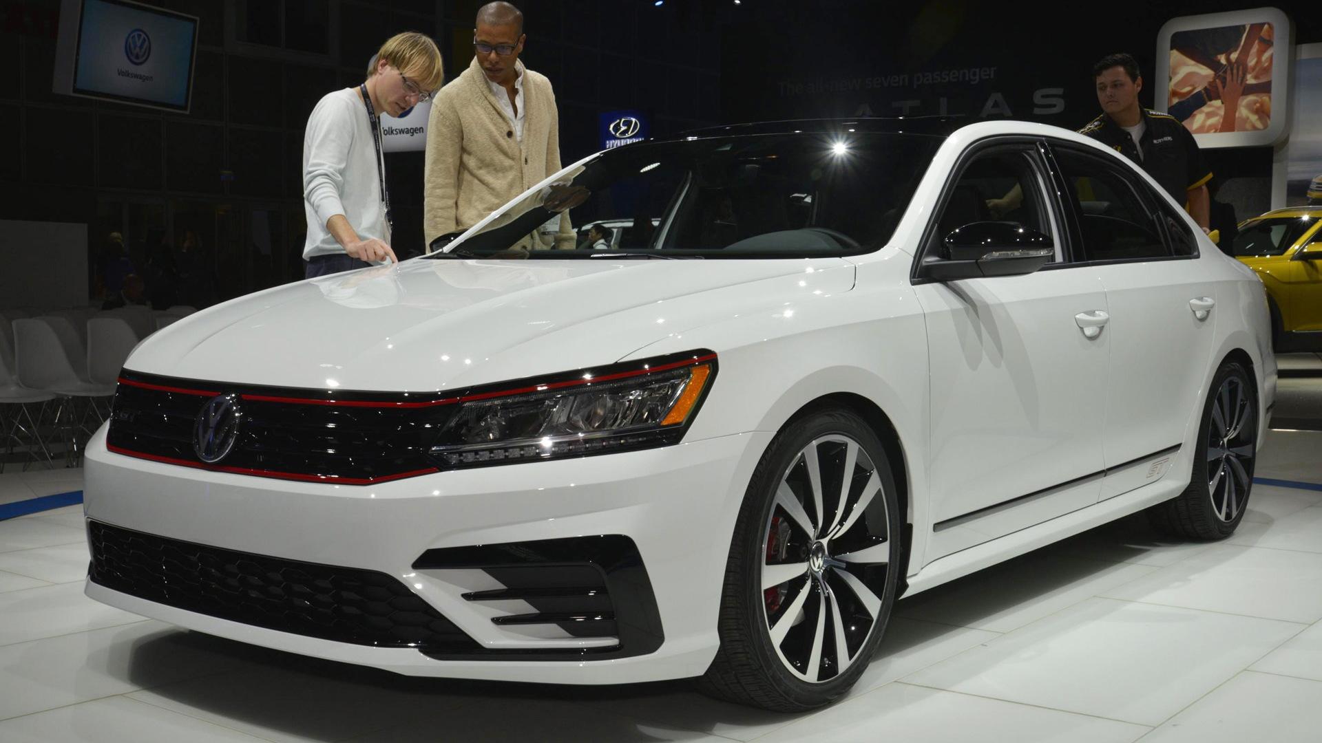 Volkswagen Passat GT concept, 2016 Los Angeles auto show