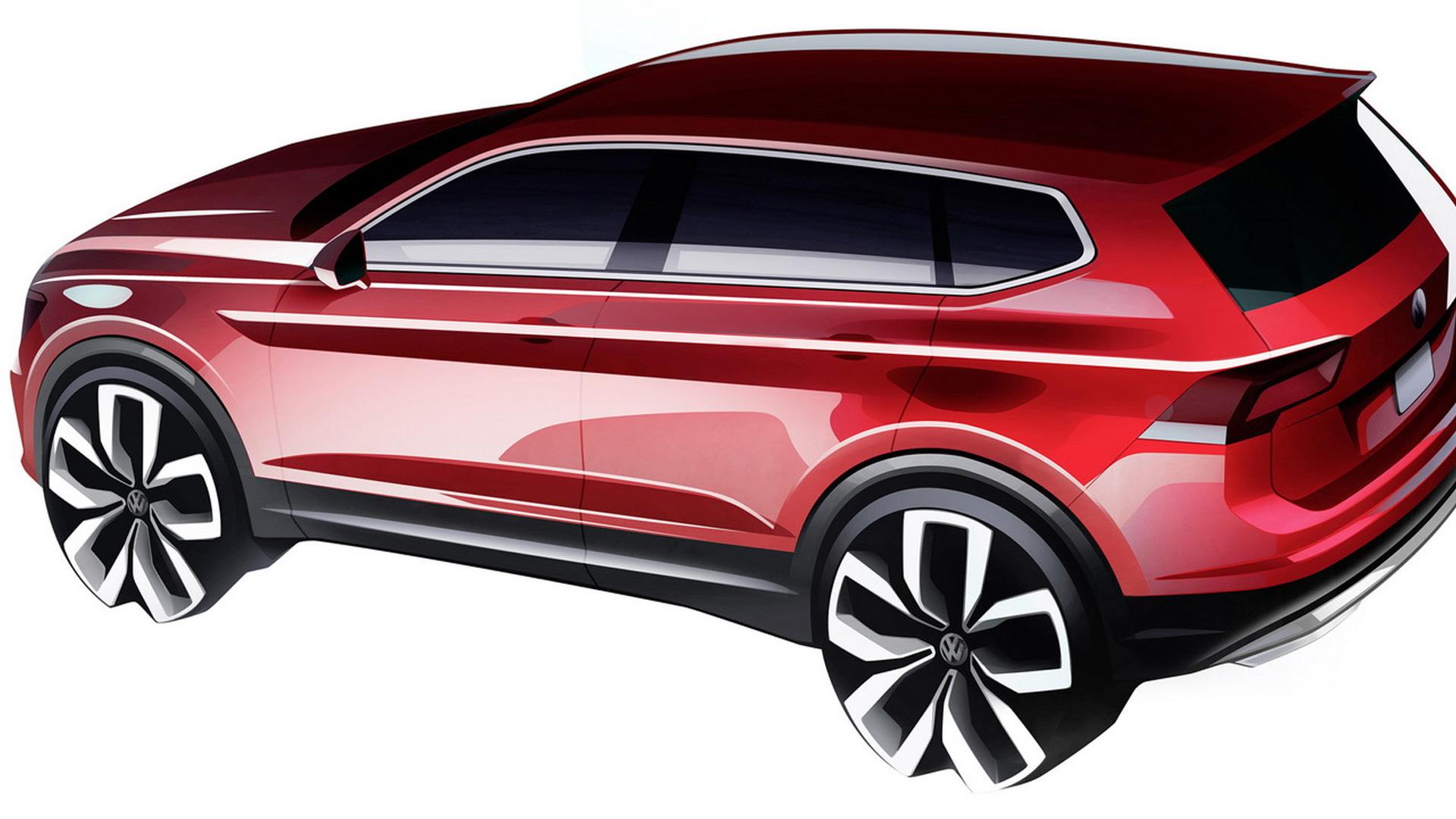 2018 Volkswagen Tiguan Alle Teased Ahead Of 2017 Detroit Auto Show