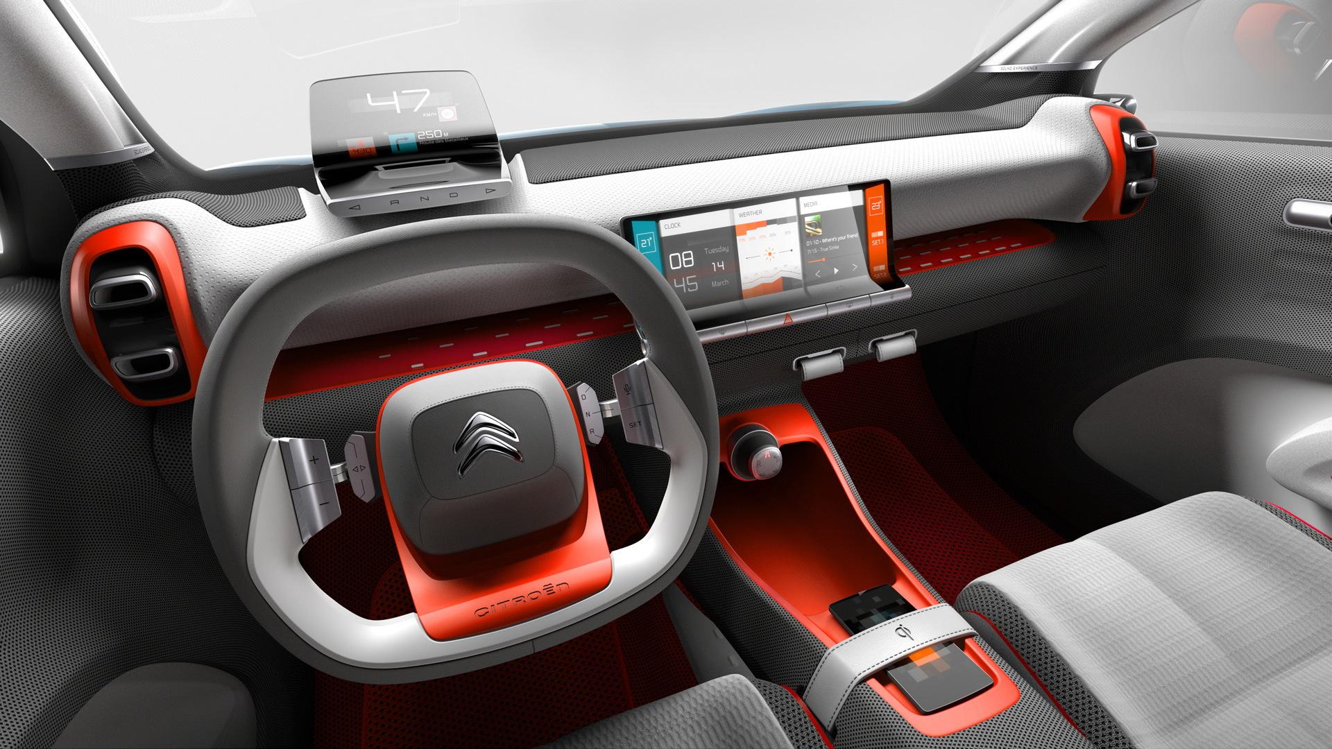 Citroën C-Aircross concept, 2017 Geneva auto show