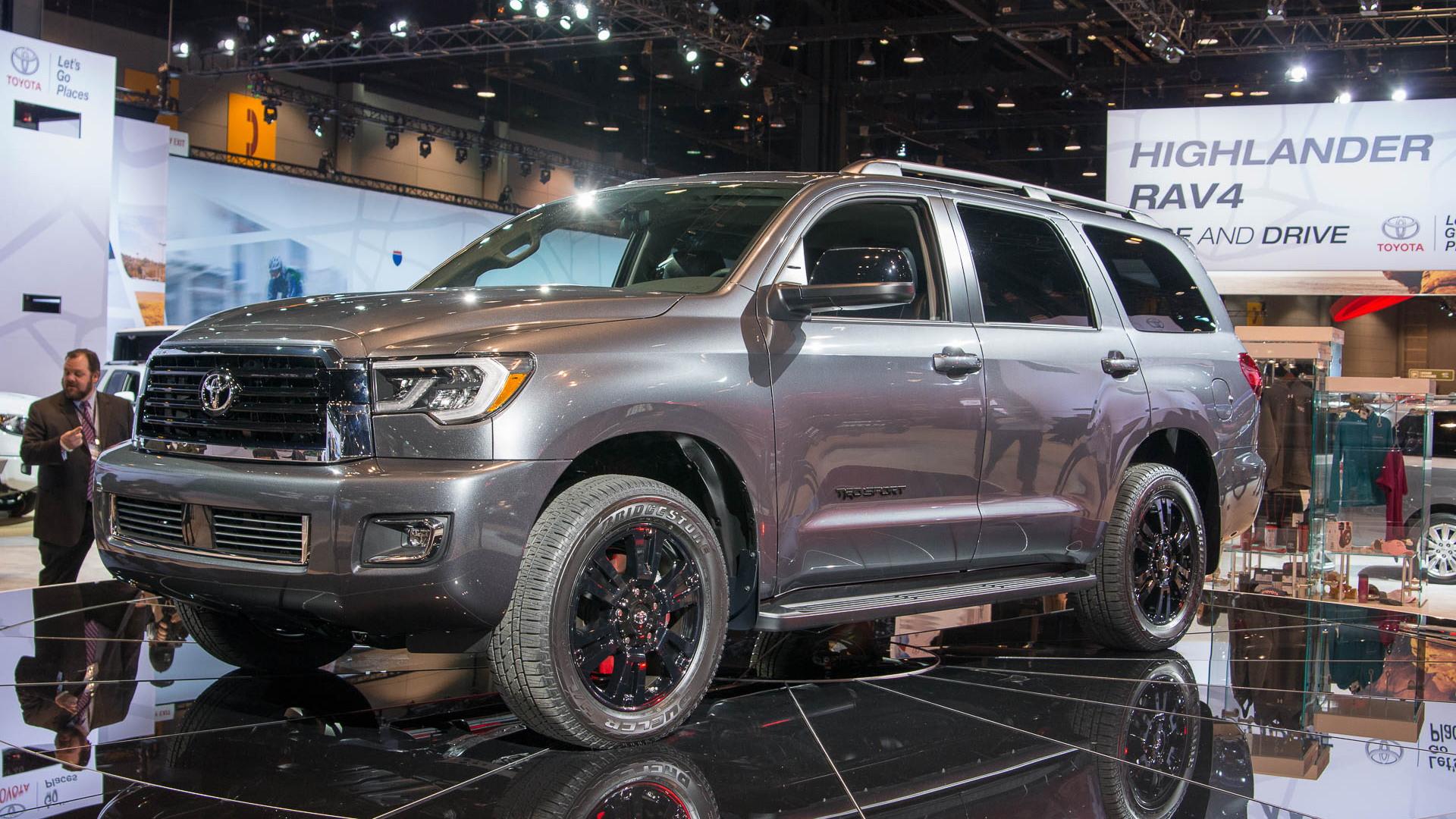 2018 Toyota Sequoia TRD Sport, 2017 Chicago Auto Show