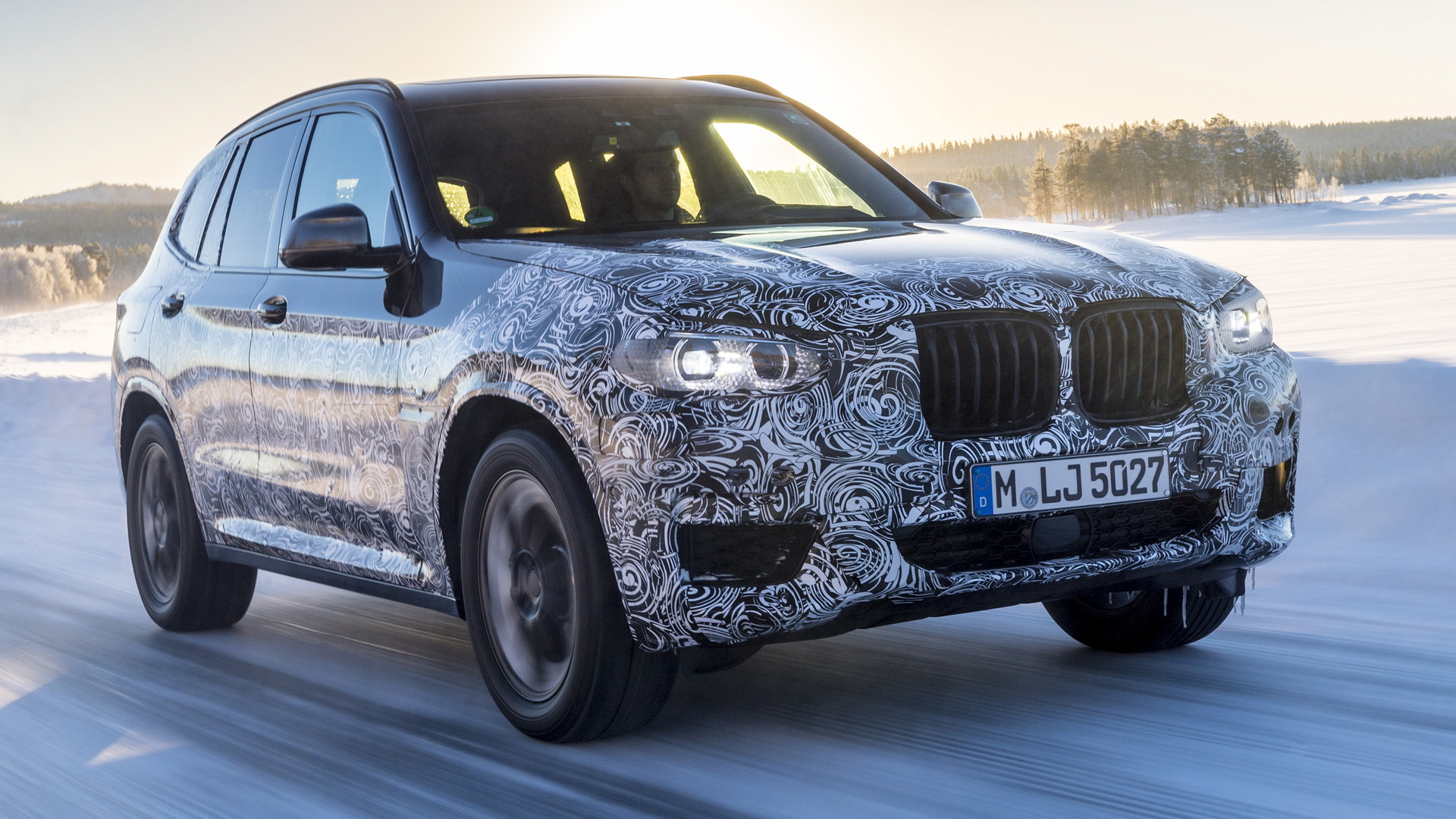 2018 BMW X3 prototype