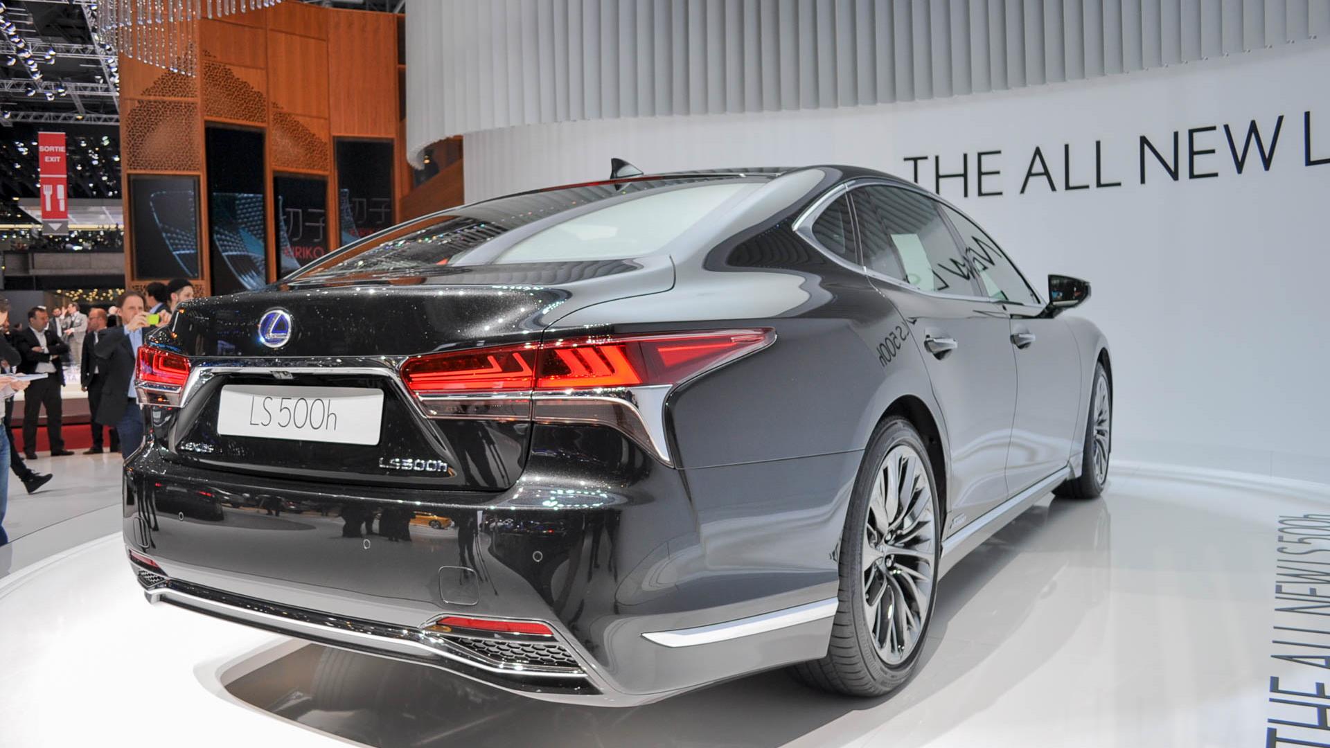 2018 Lexus LS 500h, 2017 Geneva Motor Show