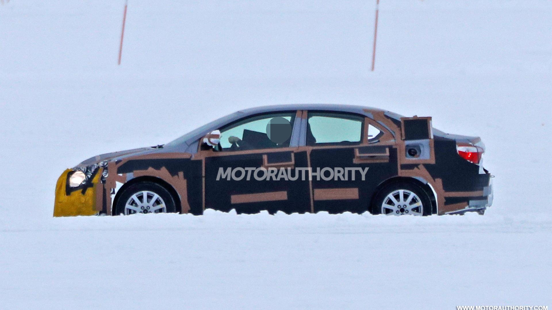 2019 Toyota Corolla test mule spy shots - Image via S. Baldauf/SB-Medien