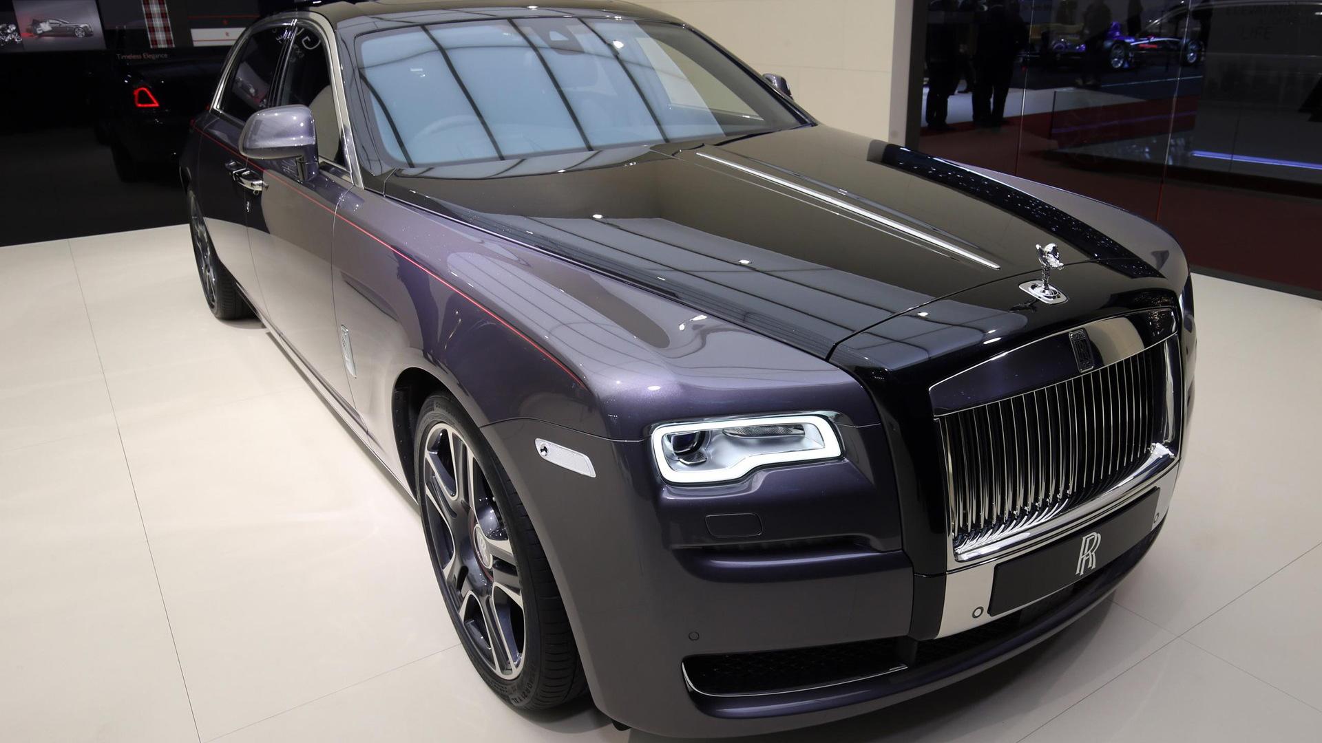 Rolls-Royce Ghost Elegance, 2017 Geneva auto show
