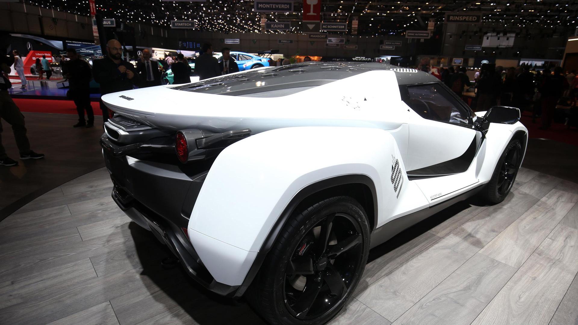 Tata Tamo Racemo concept, 2017 Geneva auto show