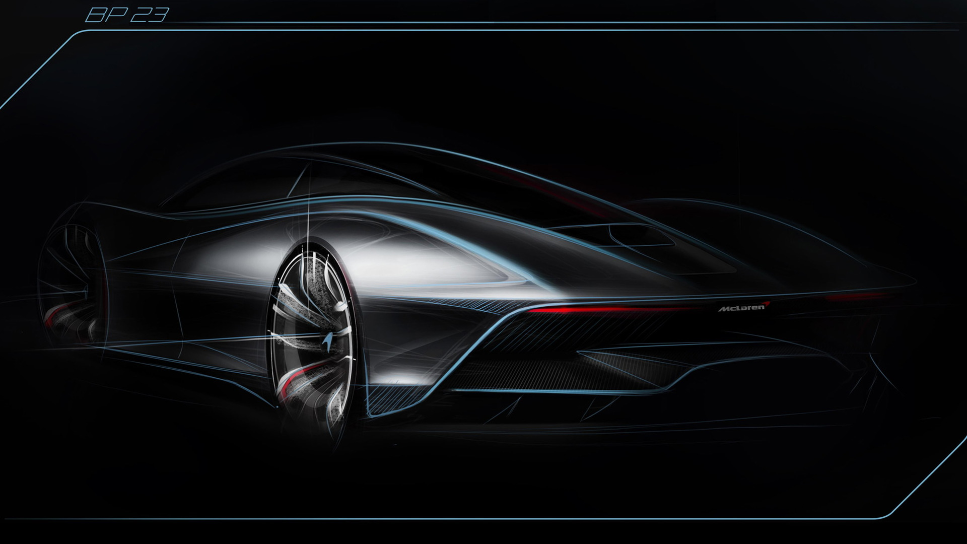 Teaser for McLaren Speedtail debuting October 26