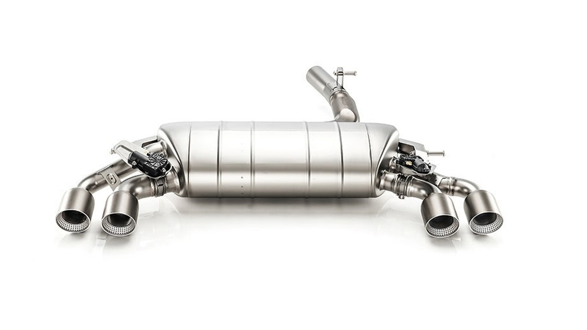 Akrapovič titanium exhaust for MkVII Volkswagen Golf R