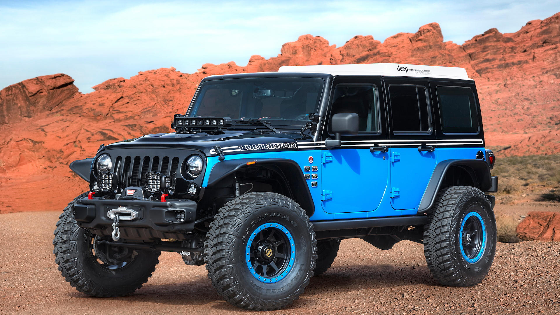Jeep Luminator for Moab Easter Jeep Safari, 2017