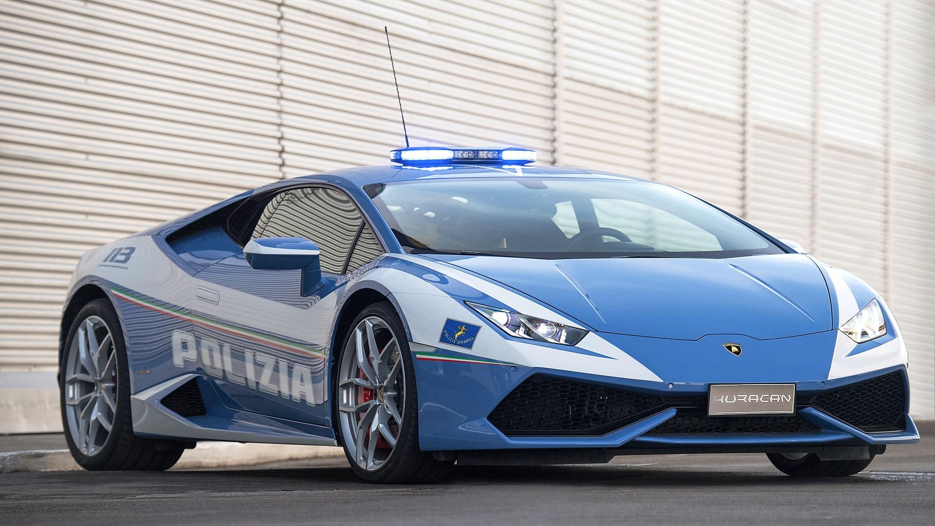 Lamborghini Huracán Polizia