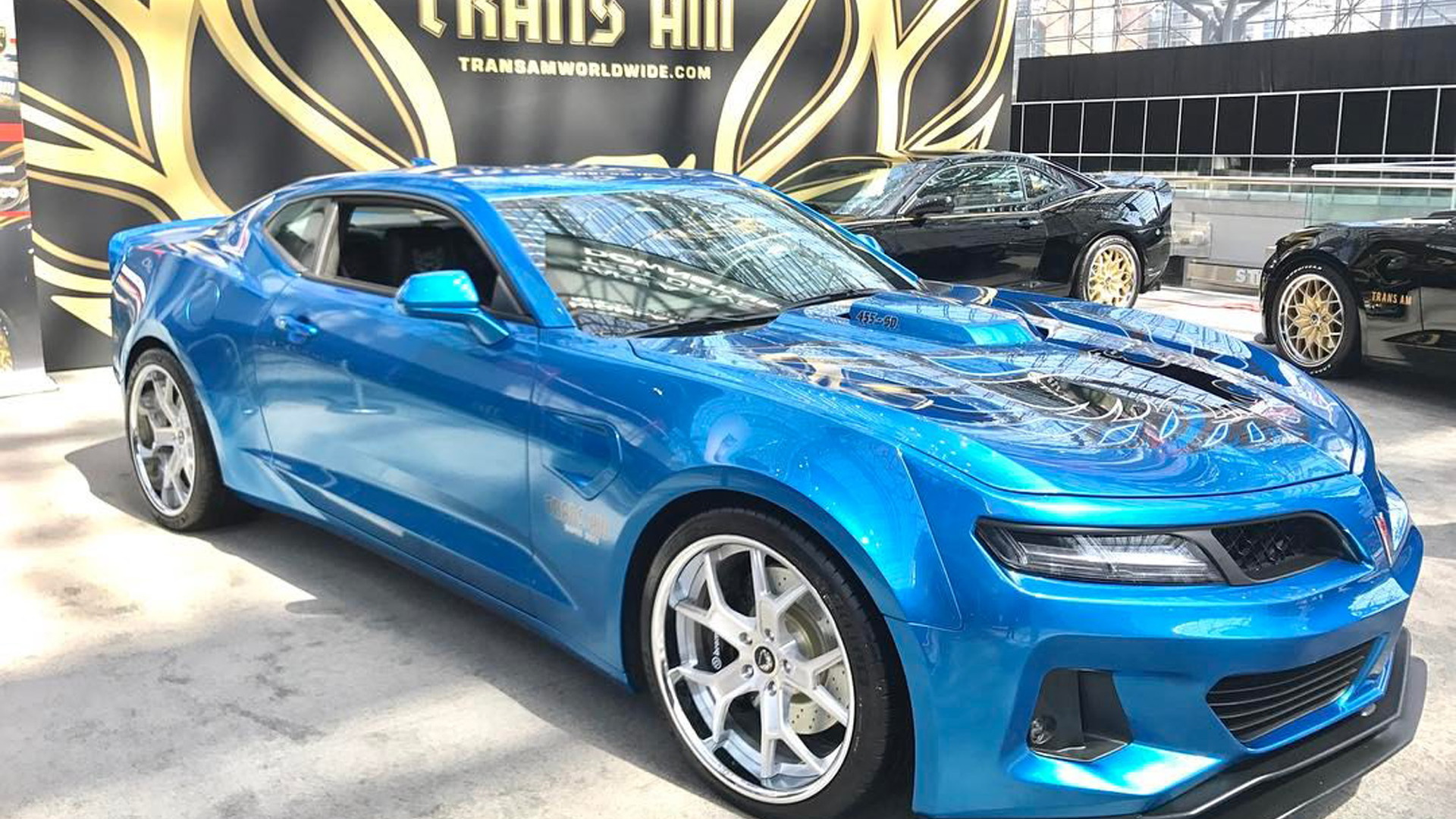 New Trans Am >> 6th Gen Camaro Trans Am Conversion Comes Packing 1 000