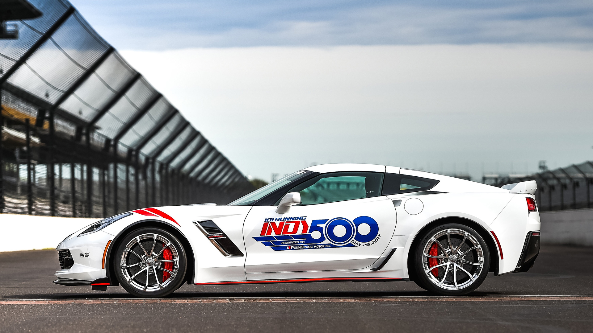 2017 Chevrolet Corvette Grand Sport Indy 500 Pace Car