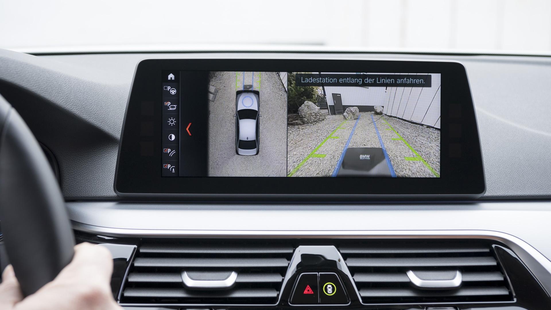 2018 BMW 530e iPerformance wireless charging