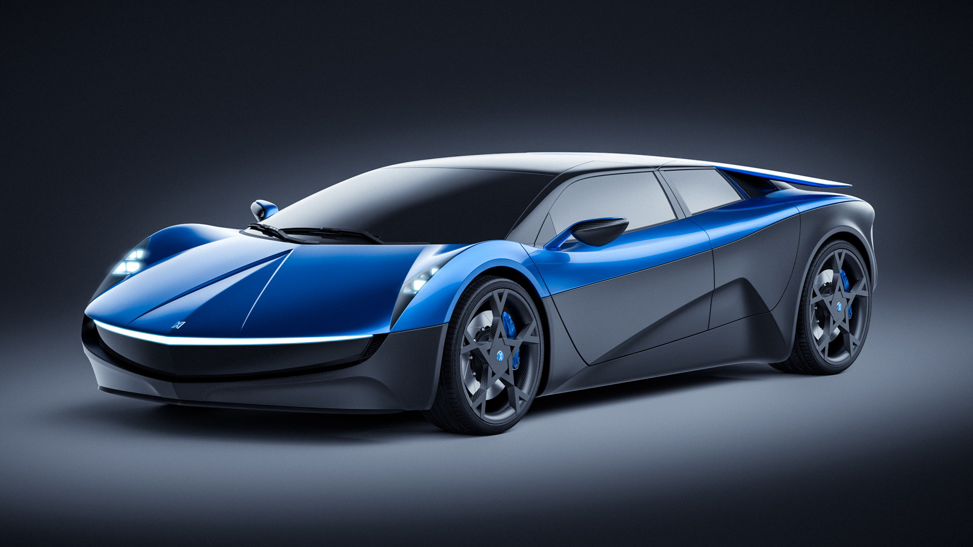 Elextra electric supercar