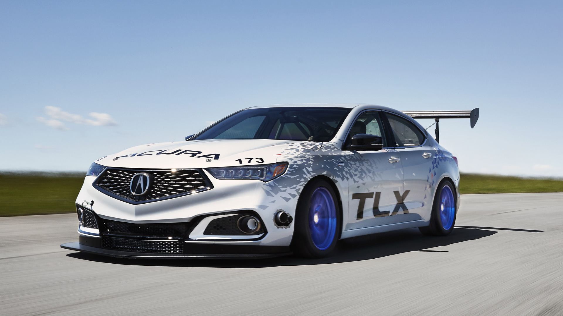 2017 Acura TLX A-Spec race car set for 2017 Pikes Peak International Hill Climb