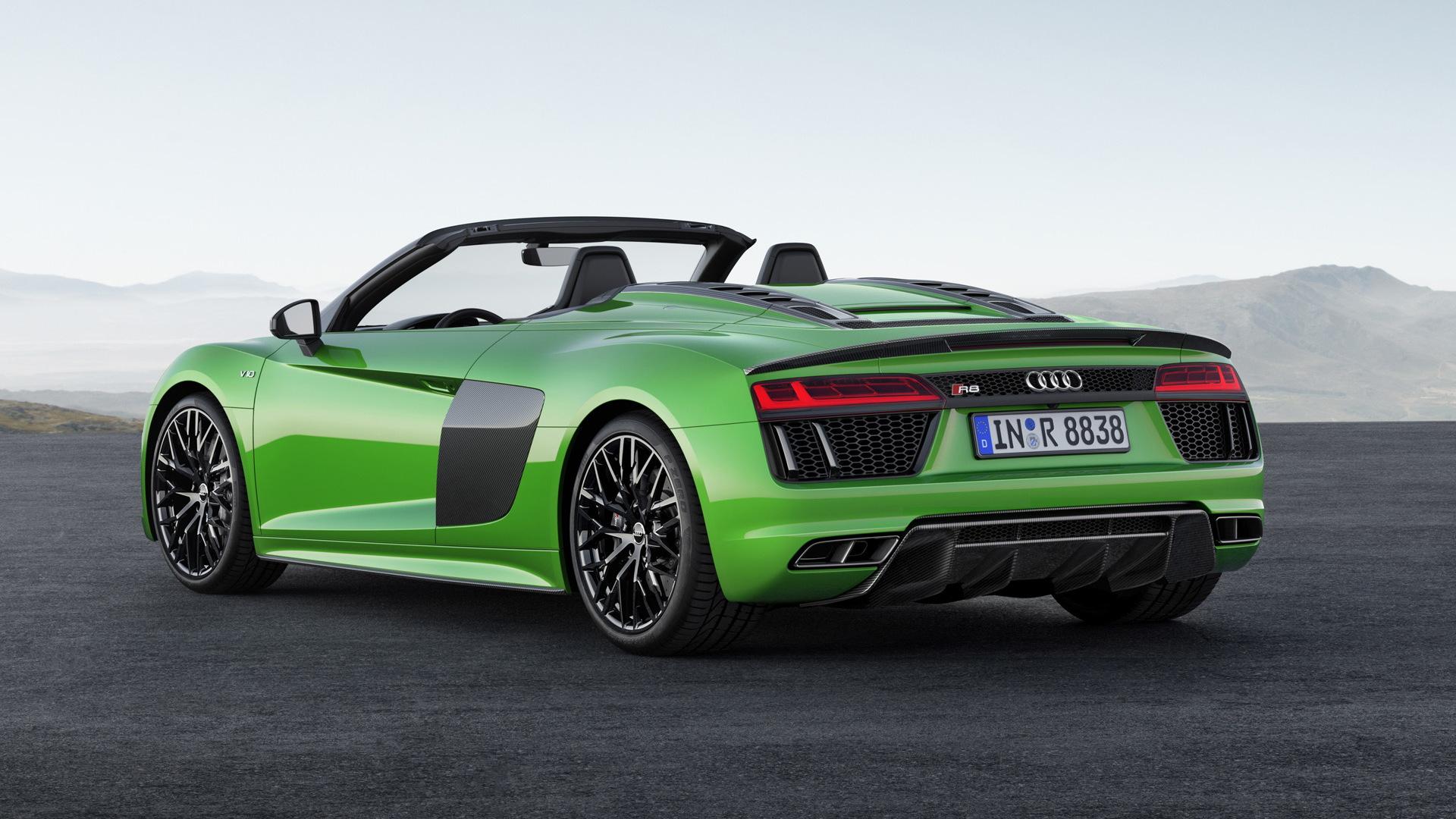 2018 Audi R8 Spyder V10 Plus
