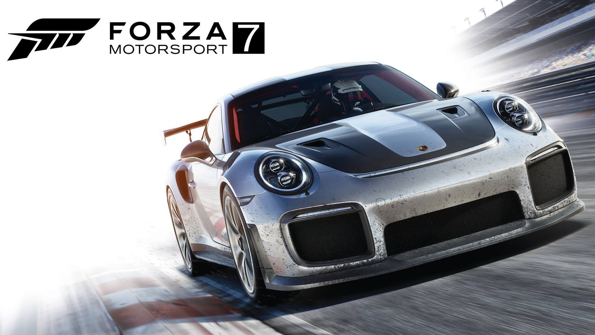 "2018 Porsche 911 GT2 RS on the cover of ""Forza Motorsport 7"""