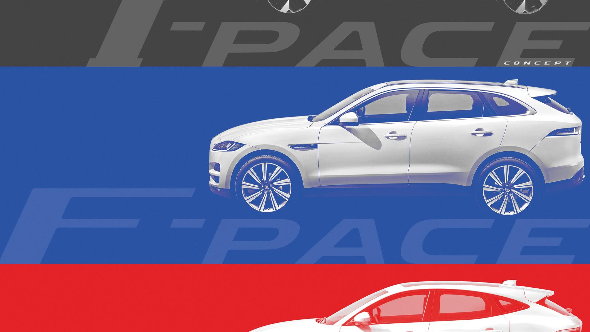 Comparison of Jaguar I-Pace, F-Pace and E-Pace SUVs