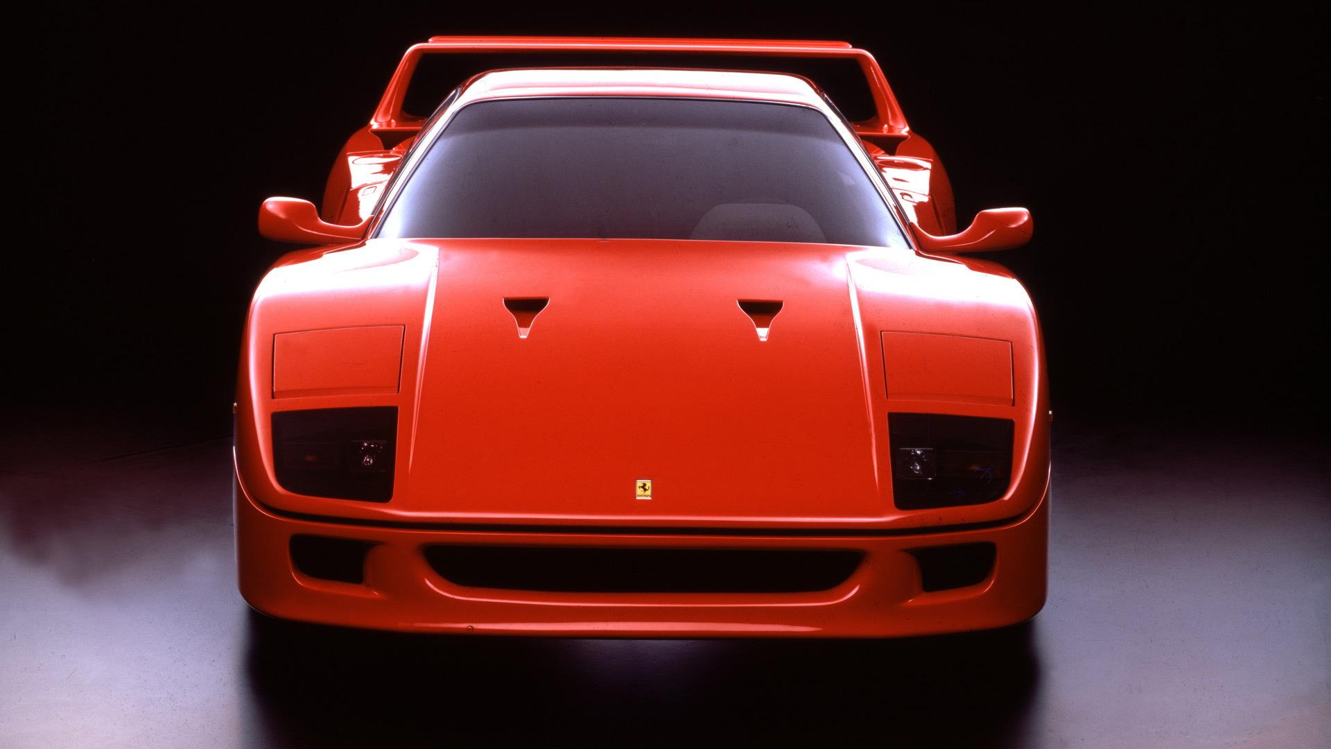 Ferrari F40 debut - July 21, 1987