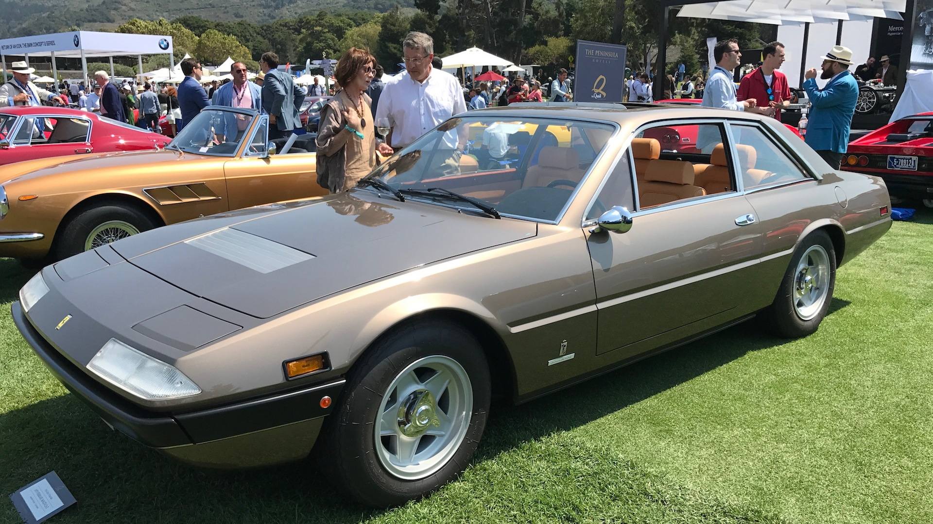 1975 Ferrari 365GT4 2+2, The Quail 2017