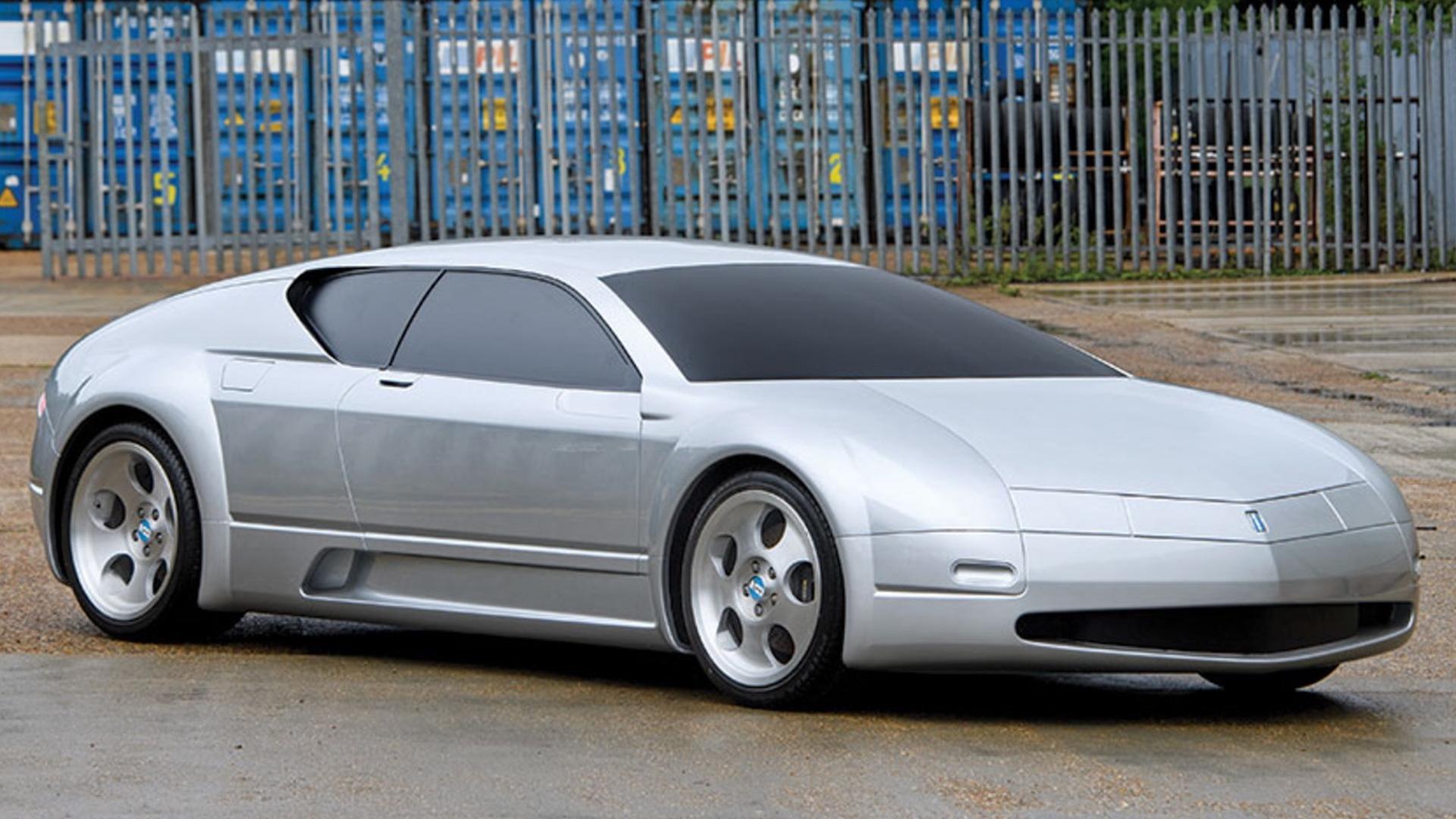 De Tomaso Nuova Pantera concept unveiled in 1999